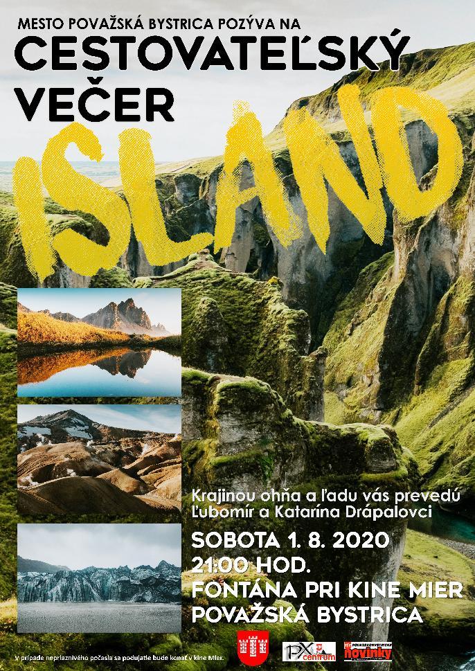 Cestovateľský večer - ISLAND