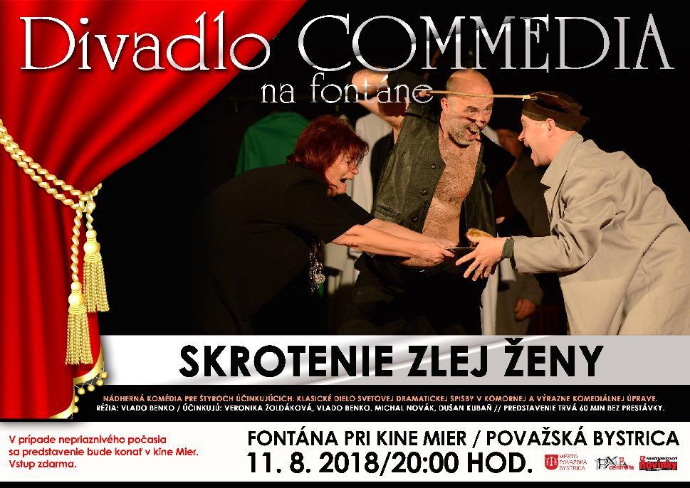 Divadlo COMMEDIA: Skrotenie zlej ženy