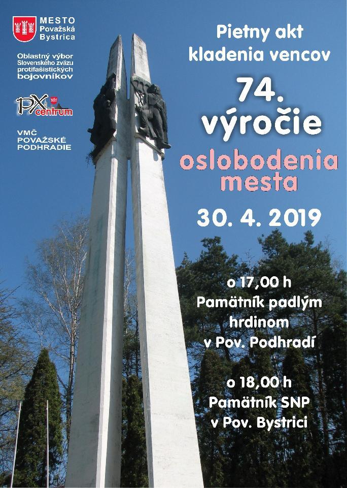74. výročie oslobodenia mesta