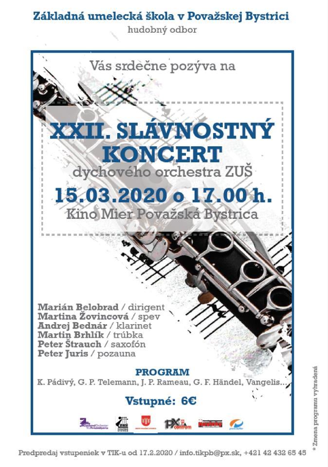XXII. Slávnostný koncert DO ZUŠ