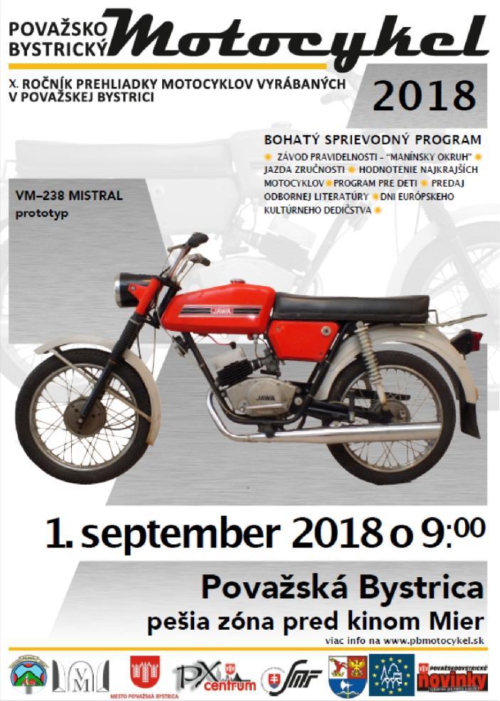 Považskobystrický motocykel 2018