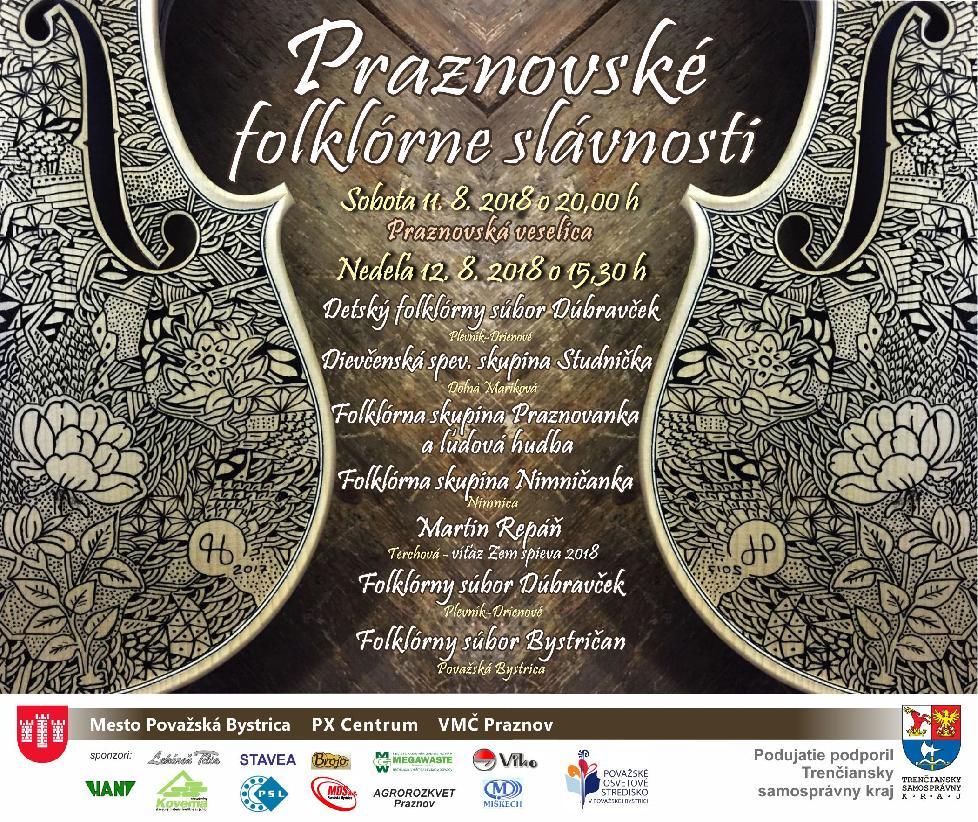 Praznovské folklórne slávnosti