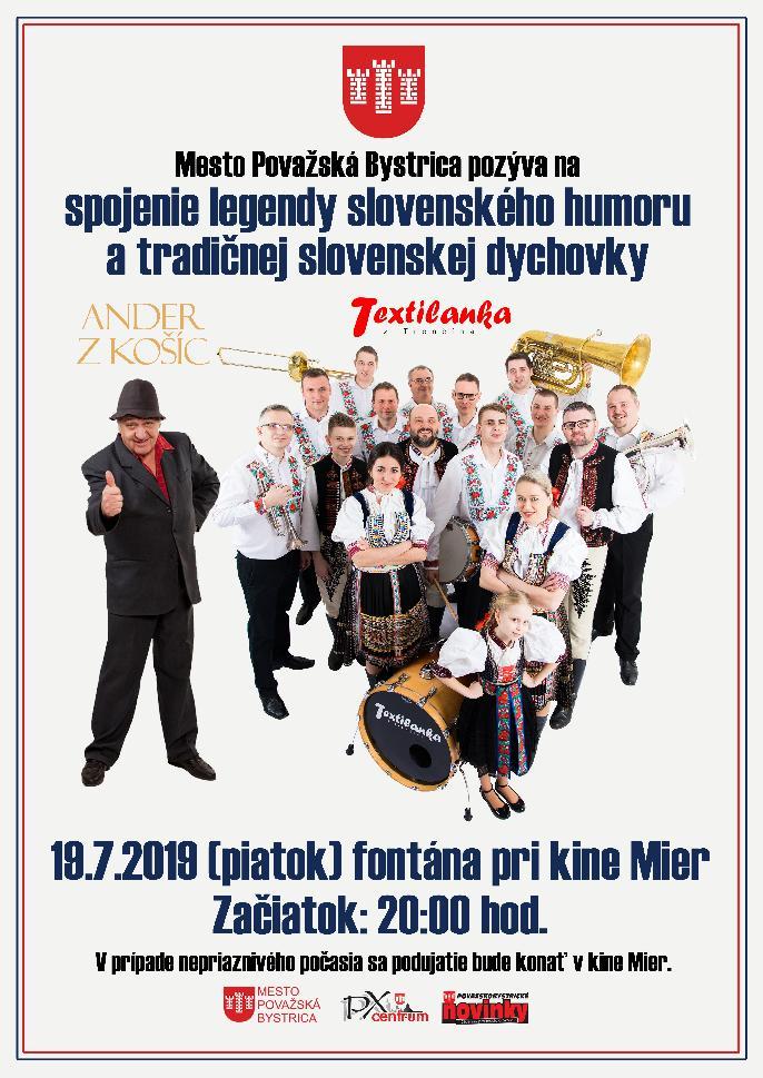 ANDER z Košíc a TEXTILANKA z Trenčína