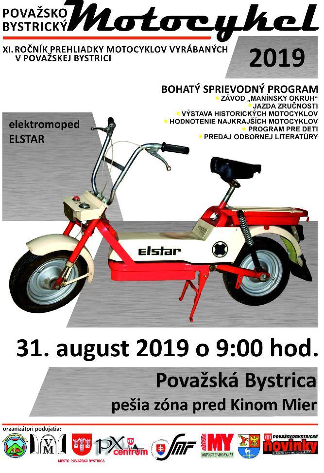 Považskobystrický motocykel 2019