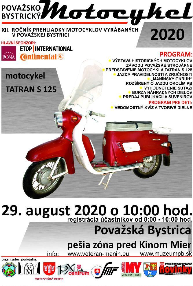 Považskobystrický motocykel 2020