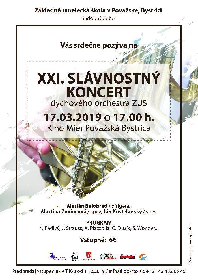 Slávnostný koncert DO ZUŠ