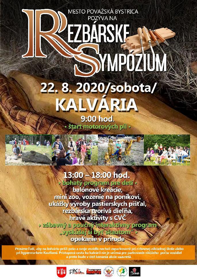 Rezbárske sympózium 2020