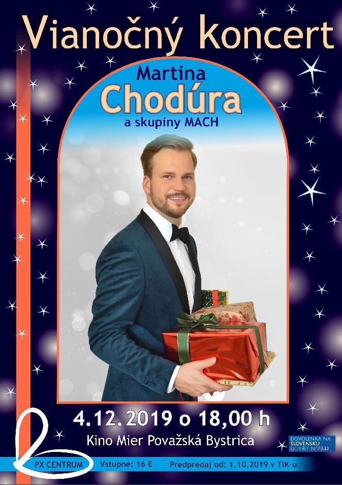 Vianočný koncert Martina Chodúra