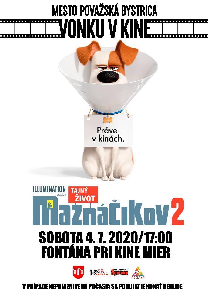 Vonku v kine - Tajný život maznáčikov 2