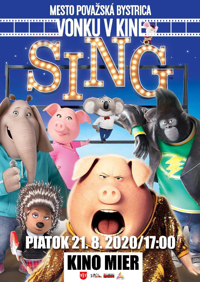 Vonku v kine - SING