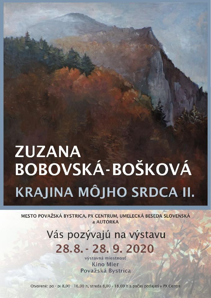 Zuzana Bobovská-Bošková - výstava obrazov