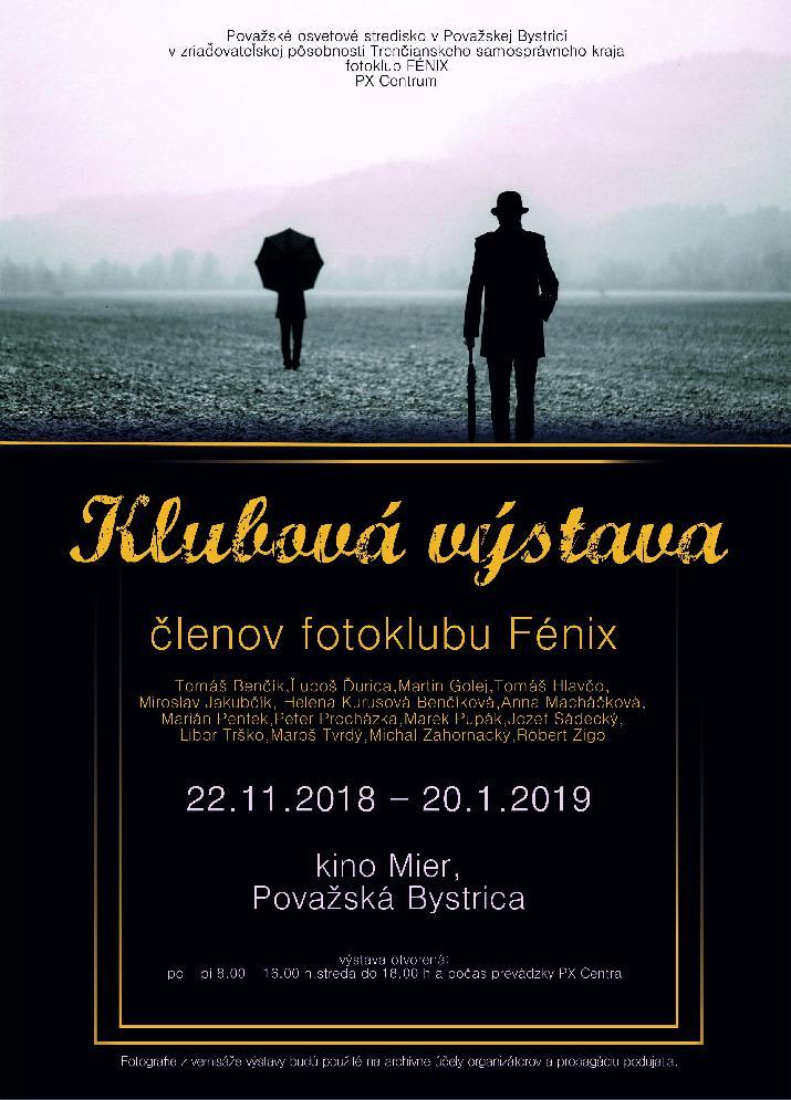 Klubová výstava členov fotoklubu FÉNIX