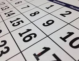 Kalendár podujatí 2020