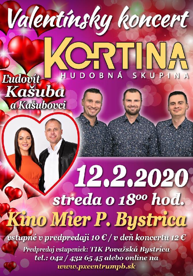 Valentínsky koncert HS Kortina